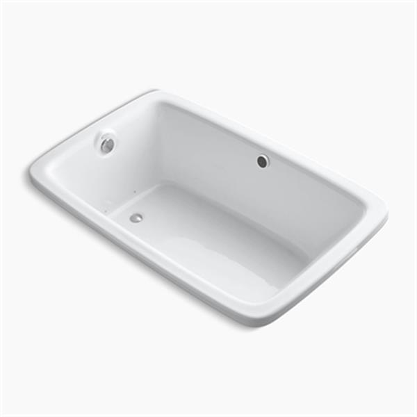 KOHLER 66-in x 42-in Drop-in BubbleMassage Air Bath with Heater