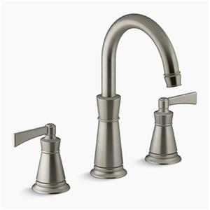 KOHLER Archer Deck-Mount Bath Faucet Trim (Brushed Nickel)