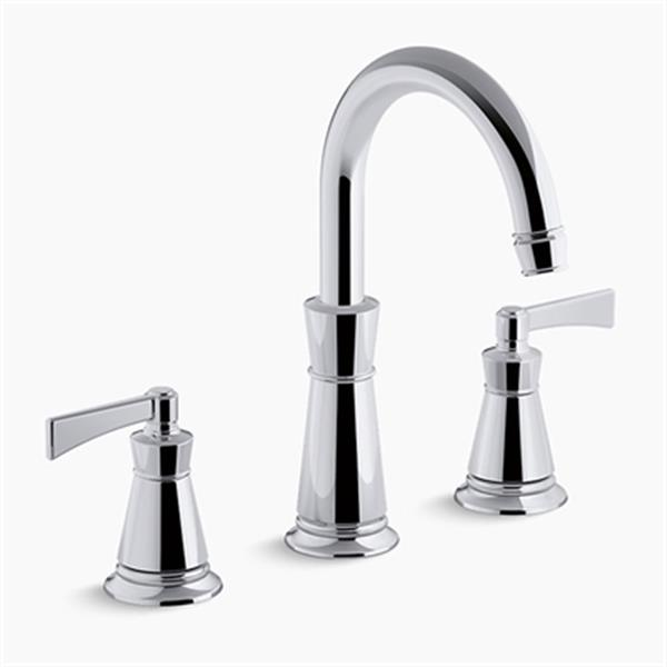 KOHLER Archer Deck-Mount Bath Faucet Trim (Polished Chrome)
