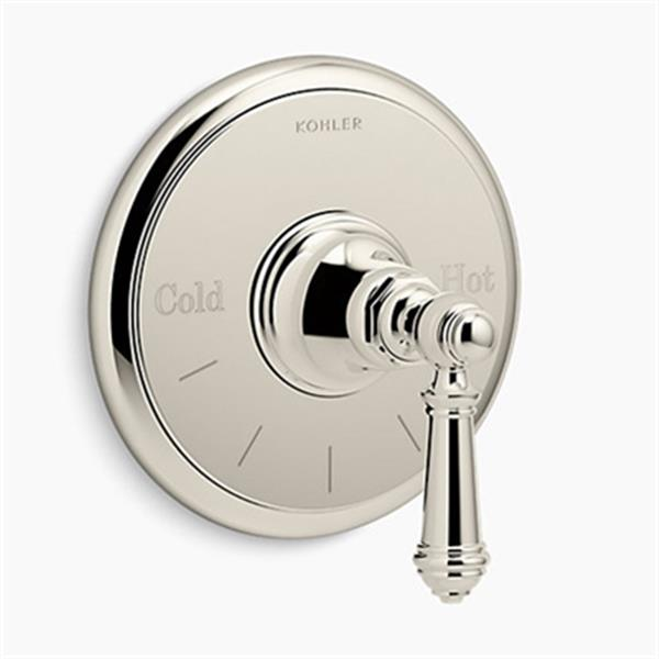 KOHLER Vibrant Polished Nickel Thermostatic Valve Trim