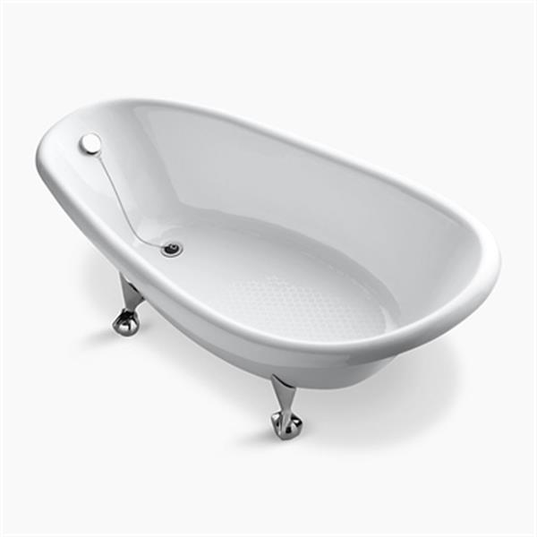 KOHLER 72-in x 37.50-in Freestanding Bath