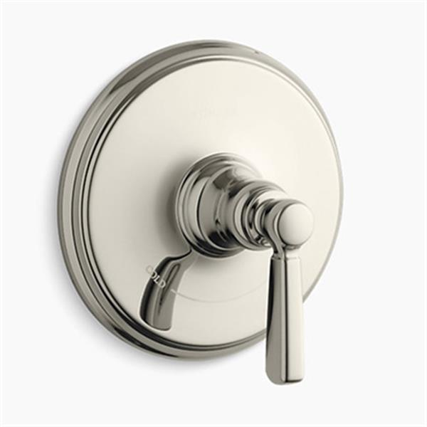 KOHLER Bancroft Vibrant Polished Nickel Thermostatic Trim