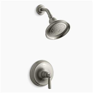 KOHLER Bancroft Oil-Rubbed Bronze Rite-Temp Pressure-Balancing Shower Faucet Trim with Metal Lever Handle