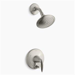 Kohler Co. Alteo Vibrant Brushed Nickel Shower Trim with Push-Button Diverter