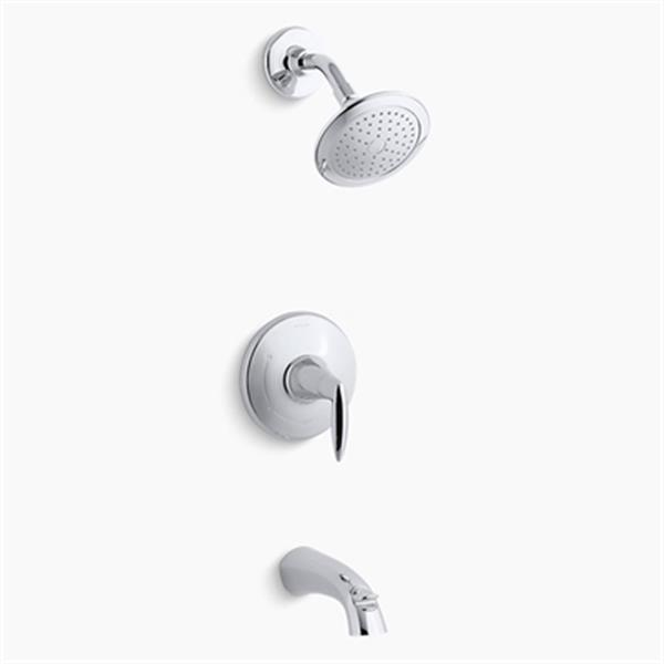KOHLER Alteo Polished Chrome Bath and Shower Trim