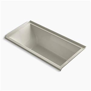 KOHLER 60-in x 30-in Alcove Bath with Tile Flange