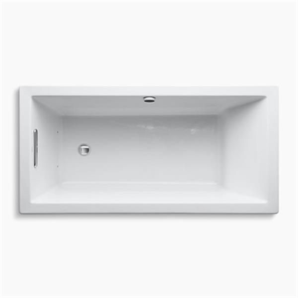 KOHLER 60-in x 30-in Drop-in BubbleMassage Air Bath