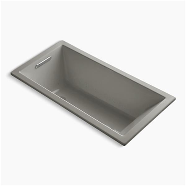 KOHLER 60-in x 30-in Drop-in VibrAcoustic + BubbleMassage Air Bath