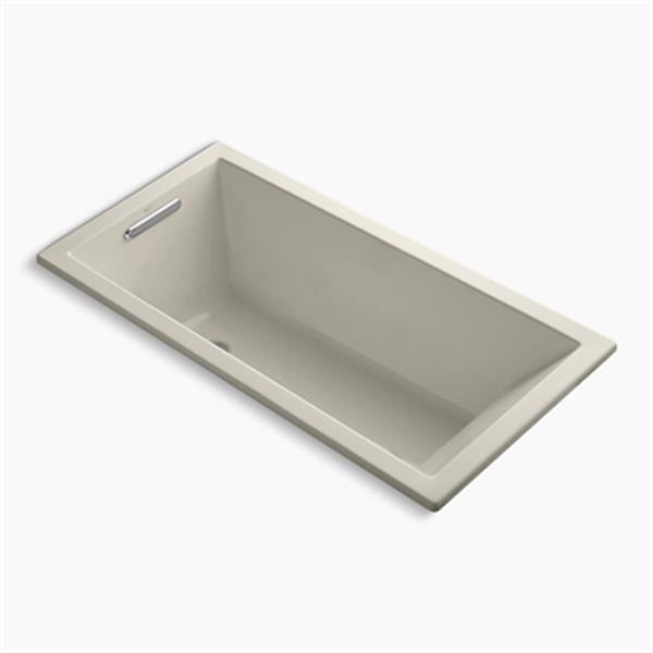 KOHLER 60-in x 30-in Drop-in VibrAcoustic Bath