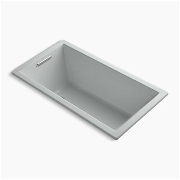 KOHLER 60-in x 32-in Drop-in VibrAcoustic Bath with Bask Heated Surface