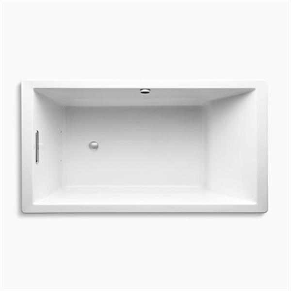 KOHLER Acrylic Drop-in Air Bath - 66-in x 36-in - White