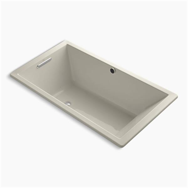 KOHLER 66-in x 36-in Drop-in BubbleMassage Air Bath
