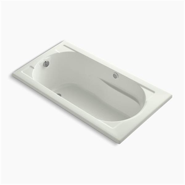 KOHLER 60-in x 32-in Drop-in BubbleMassage Air Bath with Heater