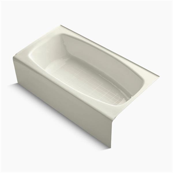 KOHLER 60-in x 32-in Alcove Bath