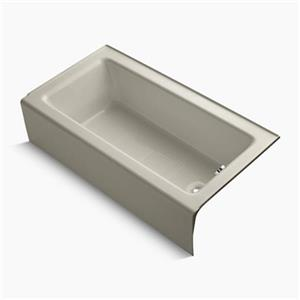 KOHLER 60-in x 32-in Alcove Bath with Integral Apron