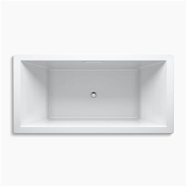 KOHLER 72-in x 36-in Drop-in Bath with Center Drain