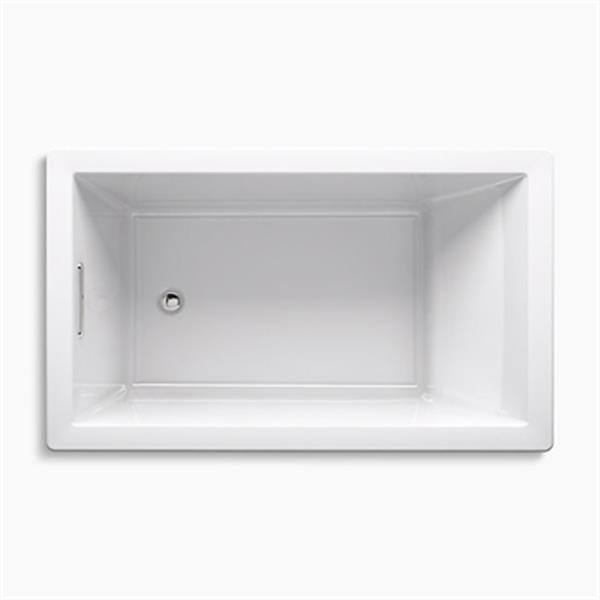 KOHLER 60-in x 36-in Rectangle Drop-in Bath