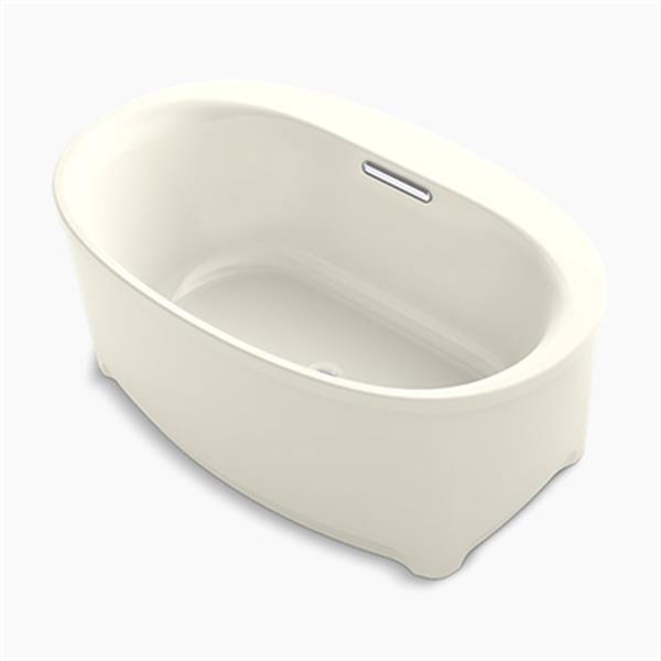 KOHLER 60-in x 36-in Oval Freestanding Bath