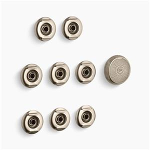 KOHLER 9698 Flexjet Whirlpool Trim Kit with Eight Jets,9