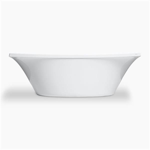 KOHLER 72-in x 36-in Freestanding Bath and Center Drain