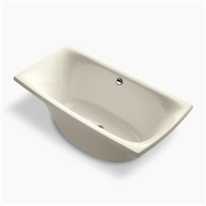 KOHLER 72-in x 36-in Freestanding Bath and Center Drain