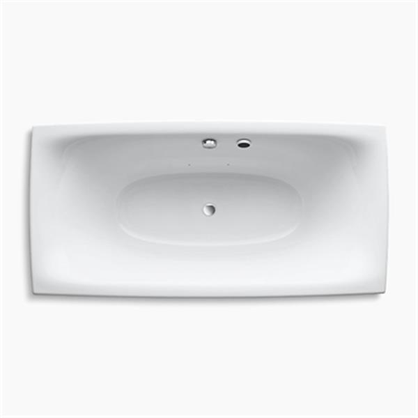 KOHLER 72-in x 36-in Freestanding BubbleMassage Air Bath