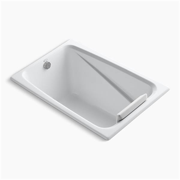 KOHLER 48-in x 32-in Drop-in Bath