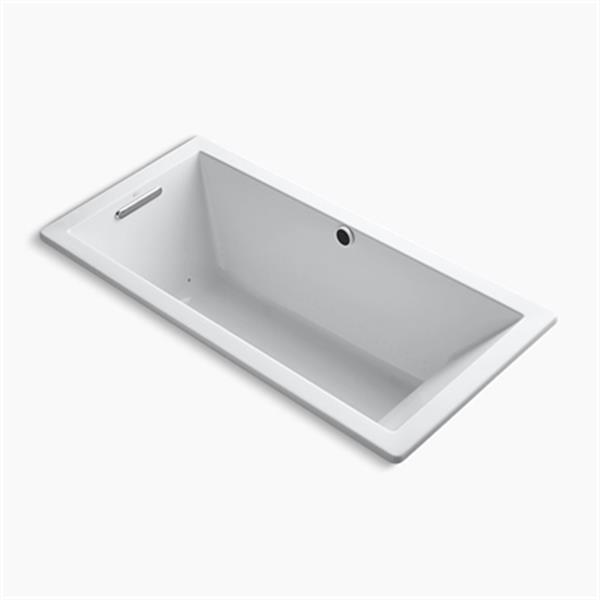 KOHLER 66-in x 32-in Drop-in BubbleMassage Air Bath