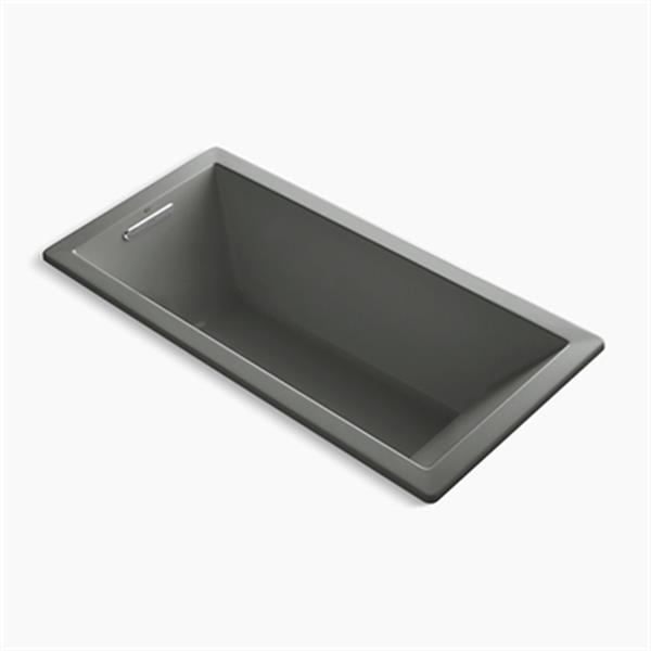 KOHLER 66-in x 32-in Drop-in VibrAcoustic Bath with Bask Heated Surface