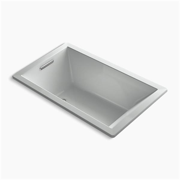 KOHLER 60-in x 36-in Rectangle Drop-in BubbleMassage Air bath