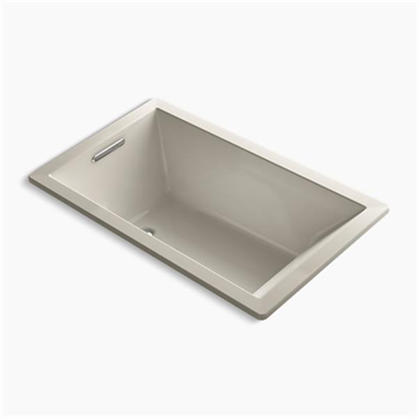 KOHLER 60-in x 36-in Rectangle Drop-in VibrAcoustic Bath