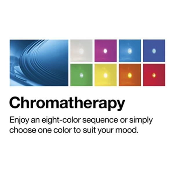 KOHLER 48-in x 48-in Cube Drop-in VibrAcoustic Bath with Chromatherapy