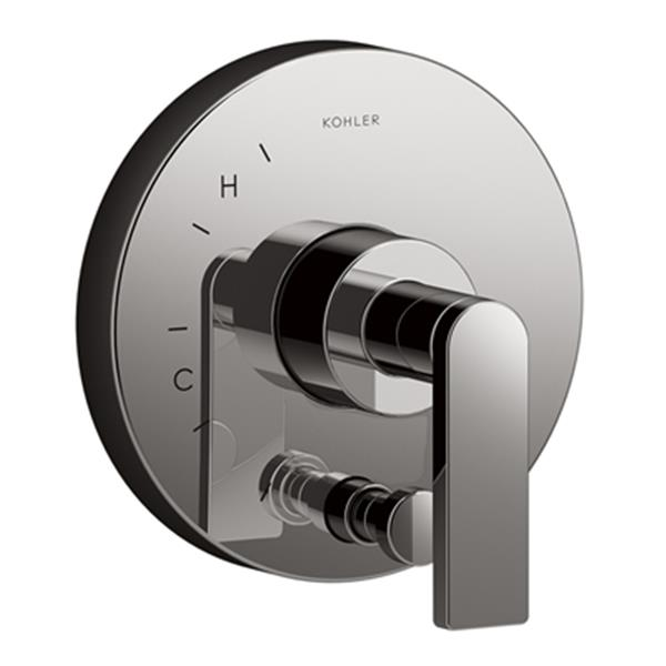 KOHLER Composed Titanium Valve Trim with Diverter for Rite-Temp Pressure-Balancing Valve