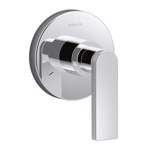 KOHLER Composed Polished Chrome Transfer Valve Trim with Single Hangle