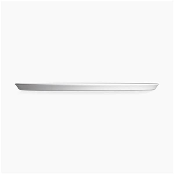 KOHLER Carillon 17.68-in White Wading Pool Round Above-Counter Bathroom Sink