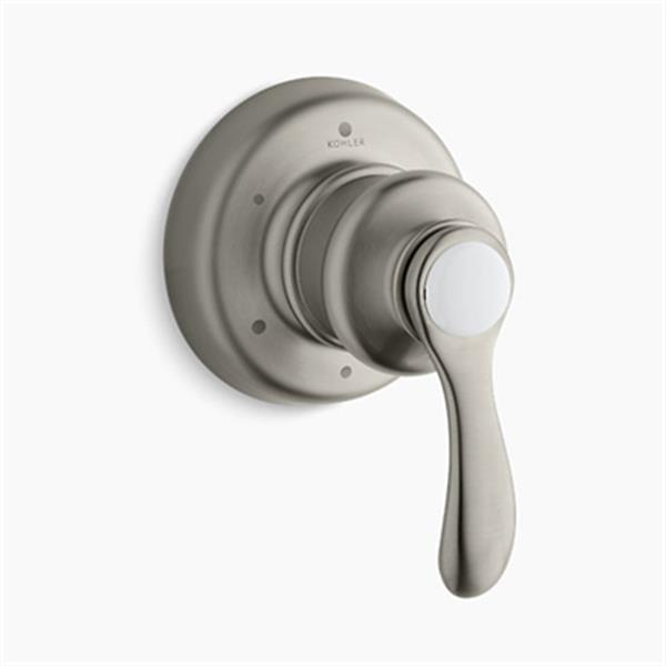KOHLER Fairfax Vibrant Brushed Nickel Transfer Valve Trim