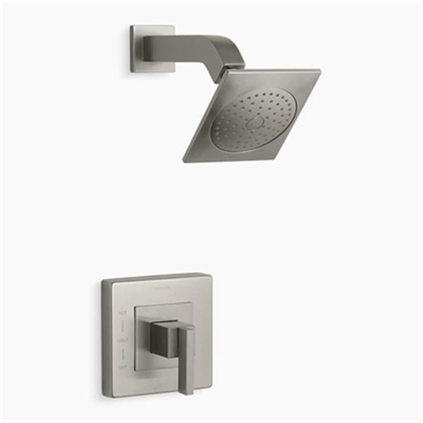 KOHLER Loure Vibrant Polished Nickel Rite-Temp Shower Trim