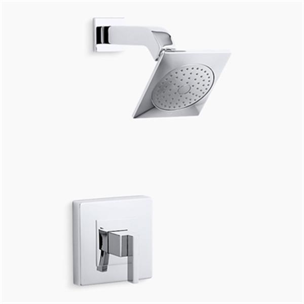 KOHLER Loure Polished Chrome Rite-Temp Shower Trim