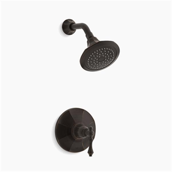 KOHLER Kelston Oil Rubbed Bronze Rite-Temp Shower Faucet Trim