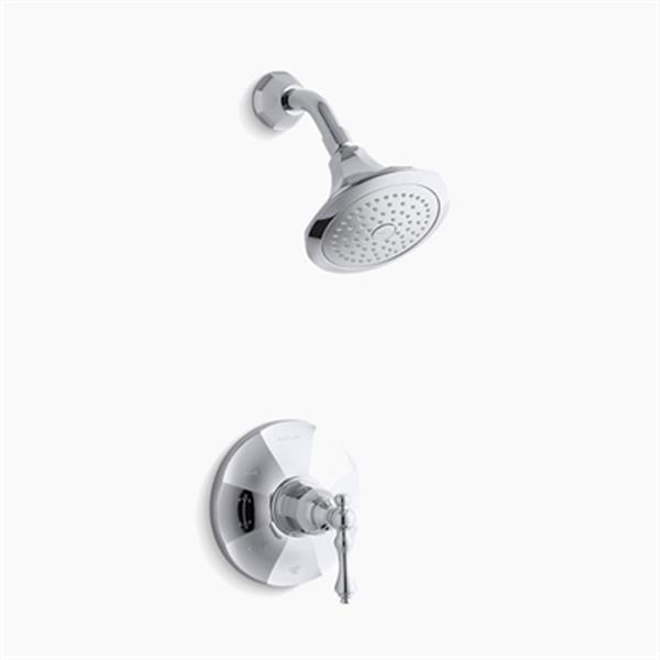 KOHLER Kelston Polished Chrome Rite-Temp Shower Faucet Trim