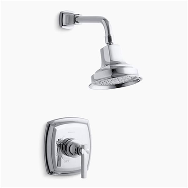 KOHLER Margaux Polished Chrome Rite-Temp Pressure-Balancing Shower Faucet Trim with Lever Handle