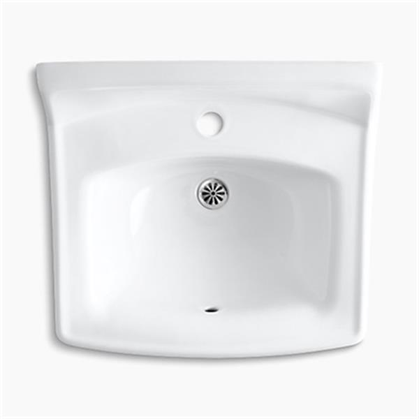 KOHLER Greenwich 20.75-in White Wall Mount