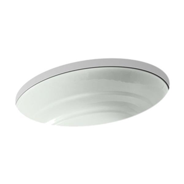 KOHLER Garamond 21.06-in Seasalt Under Counter Sink