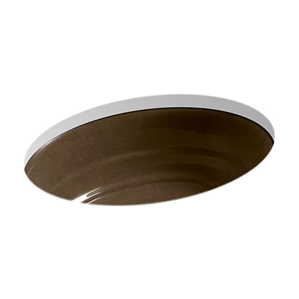 KOHLER Garamond 21.06-in Tan Under Counter Sink