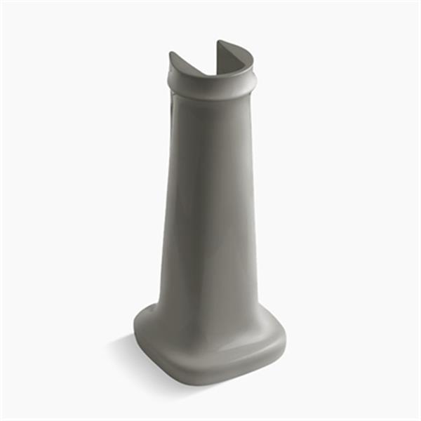 KOHLER Bancroft 27.75-in Cashmere Pedestal Sink