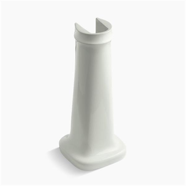 KOHLER Bancroft 27.75-in Off White Pedestal Sink