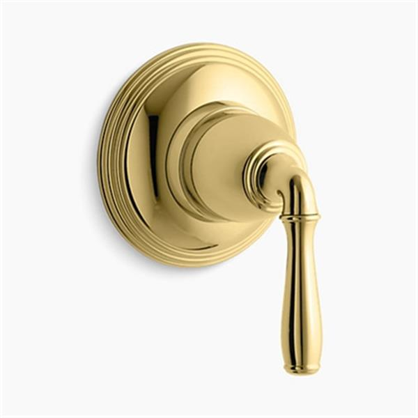 KOHLER Devonshire Vibrant Polished Brass Volume Control Trim