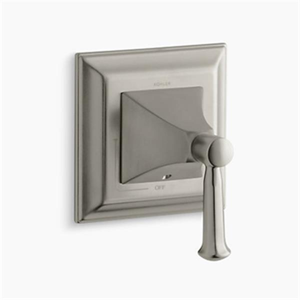 KOHLER Memoirs Vibrant Brushed Nickel Volume Control Valve Trim
