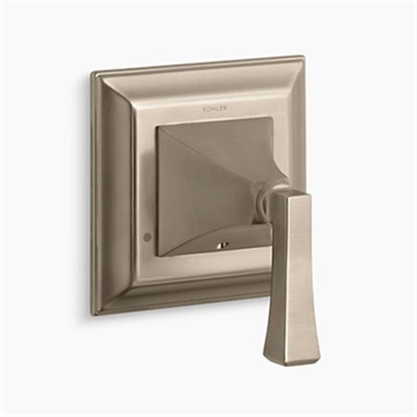 KOHLER Memoirs Vibrant Brushed Bronze Transfer Valve Trim