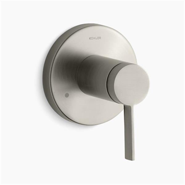 KOHLER Stillness Vibrant Brushed Nickel Transfer Valve Trim